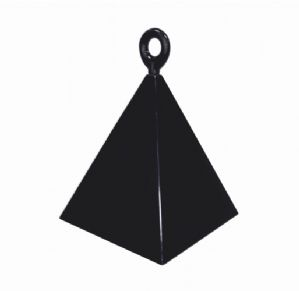 3.9oz Pyramid Weights (Black) 12pcs